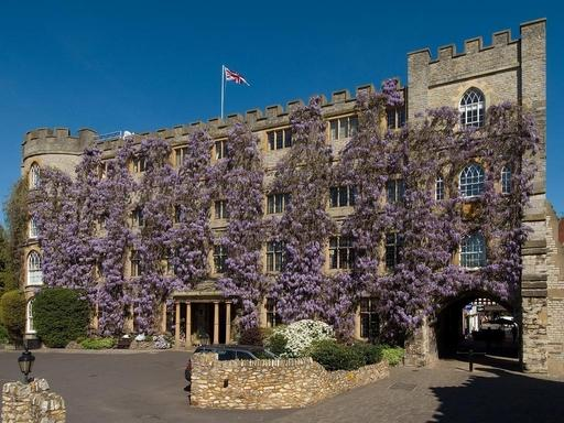 The Castle Hotel, once a Norman fortress, is steeped in the drama and romance of English history.
