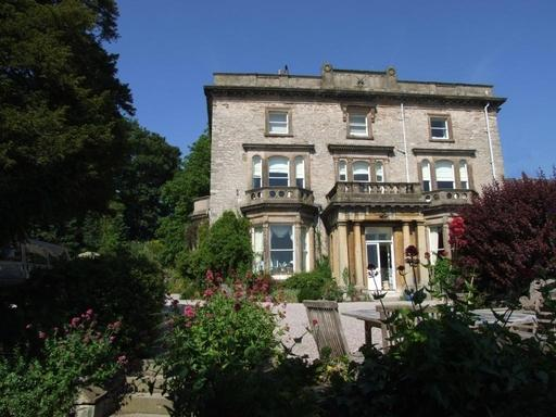 Gracious small hotel occupies a handsome Grade II-listed mansion fashioned out of a pair of 18th-century Georgian villas