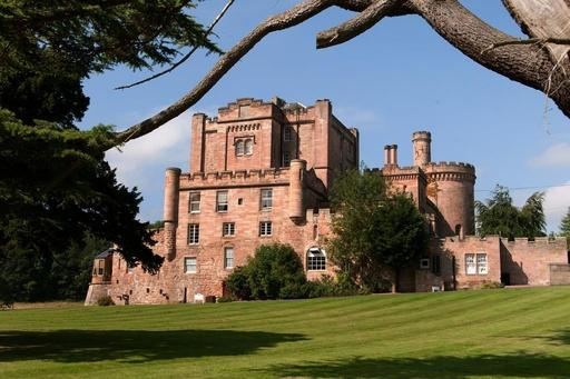 Set in acres of wooded parkland just eight miles from Edinburgh city centre, this is the oldest inhabited castle in Scotland.