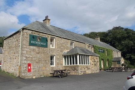 The Redesdale Arms Hotel is an authentic coaching inn dating back to the 17th century.