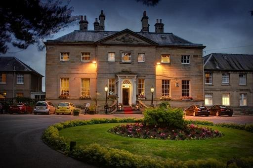 Ednam House Hotel is an elegant Georgian manor house dating from the 1760s.