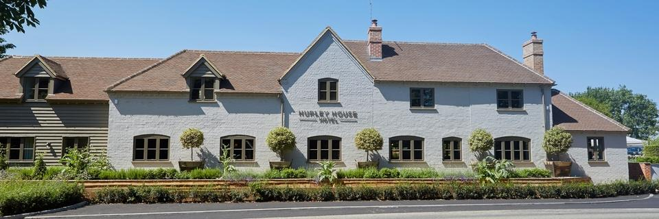 Nestled in the Thames Valley between Marlow and Henley, Hurley House Hotel in Berkshire is a chic country escape .