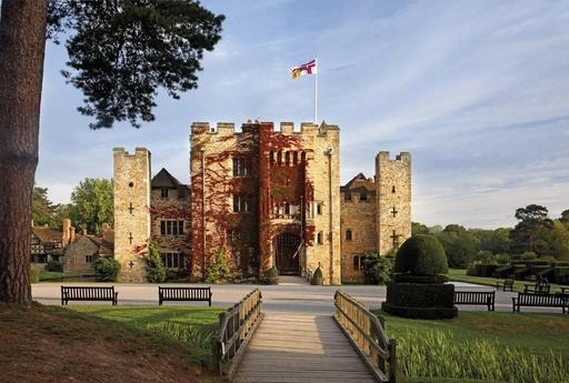 Surrounded by gorgeous Kent countryside, doubled-moated Hever Castle is one of the most celebrated of English castles.