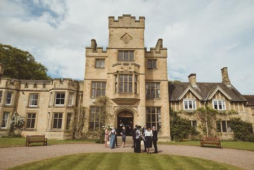 Nestled in a 350 acre private estate on the River Coquet, Guyzance Hall is a Grade II Neo-Tudor Edwardian mansion available for exclusive use private hire for events, weddings and gatherings.