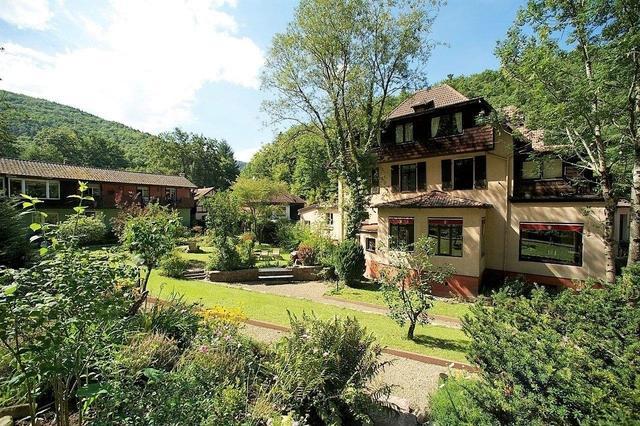 Hotel à Guebwiller certifié Au Naturel... Un coin de nature préservée